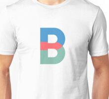 B Initial-TMHcoll Unisex T-Shirt