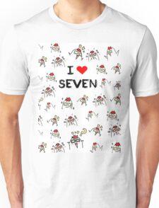 I love Seven ,Mystic Messenger  Unisex T-Shirt