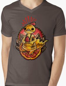 Scraggy Mens V-Neck T-Shirt