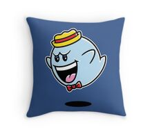 Super Cereal Ghost Throw Pillow