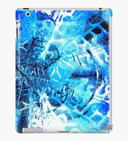 Digital Crystal Ice iPad Case/Skin