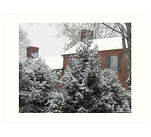 Home for Christmas... products Art Print