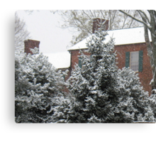 Home for Christmas... products Canvas Print