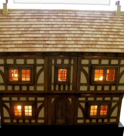 Tudor dollhouse Sticker