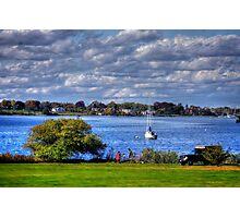 Rhode Island shore Photographic Print