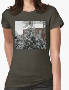 Home for Christmas... products Womens Fitted T-Shirt