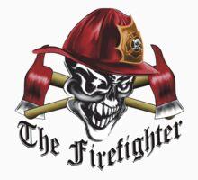 Firefighter Skull 5.4 Kids Tee