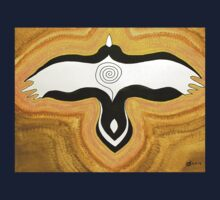 Crow Blessing original painting Kids Clothes