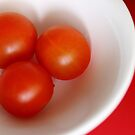 Three Tomatoes  - JUSTART ©  by JUSTART