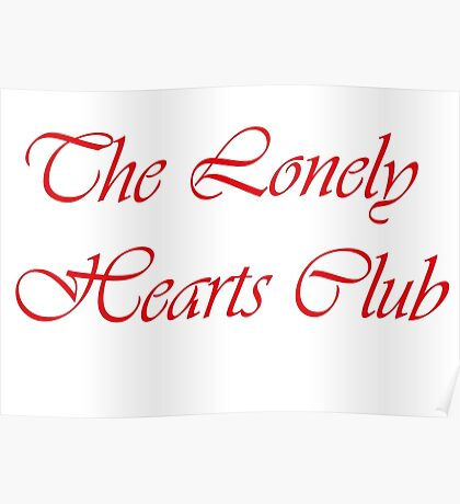 Lonely club Poster