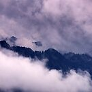 Ammer Mountain Peaks by Kasia-D