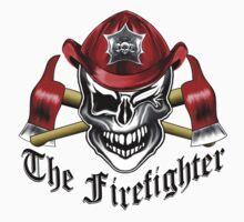 Firefighter Skull 6.5 Kids Tee