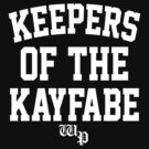 keepers of the kayfabe  by rafzombie