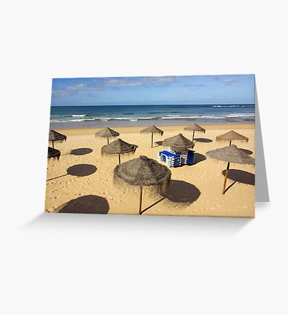 Beach Sunshades Greeting Card