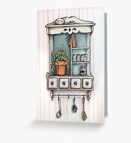 Little Shelf Greeting Card