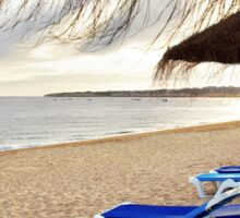 Relax in the beach Sticker