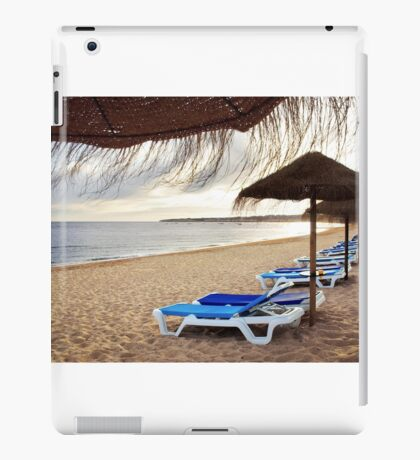 Relax in the beach iPad Case/Skin