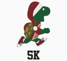 Santa Turtle Runner 5K One Piece - Long Sleeve