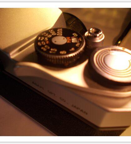 Pentax SP1000 Speed Dial Sticker