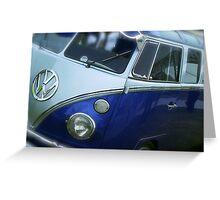 VW Camper Van Split Screen Greeting Card