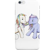 Inception My Little Pony Arthur and Eames Rainbow iPhone Case/Skin