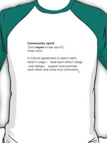 Online Community Spirit T-Shirt