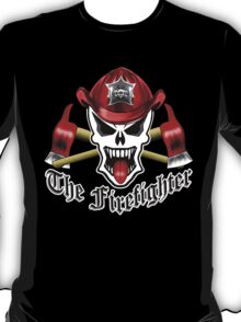Firefighter Skull 2.9 T-Shirt