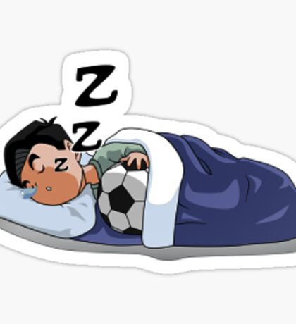 Zzz! Sleeping Ghenny Sticker