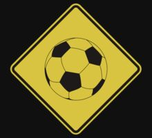 Soccer - Football - Footy - Traffic Sign - Diamond One Piece - Long Sleeve
