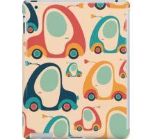Retro Funny Car iPad Case/Skin