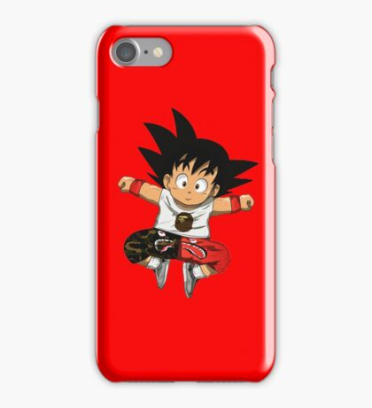 goku x bape iPhone Case/Skin