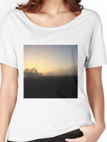 Misty Morning  Women's Relaxed Fit T-Shirt