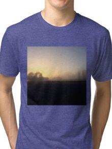 Misty Morning  Tri-blend T-Shirt