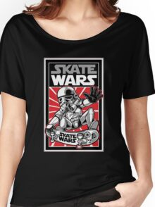 skate wars Women's Relaxed Fit T-Shirt