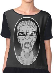 Don't Blink! Chiffon Top