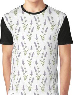lavender pattern Graphic T-Shirt