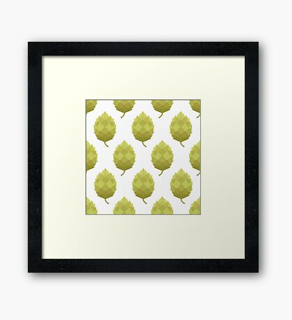 hop pattern Framed Print