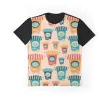 Retro Coffee Shop Graphic T-Shirt