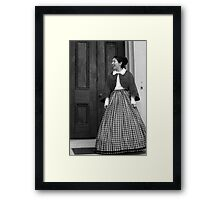 Welcome to Belle Meade Framed Print
