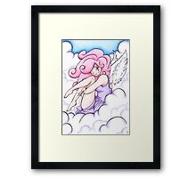 Cloud Element - Elements Traditional Art Series Framed Print