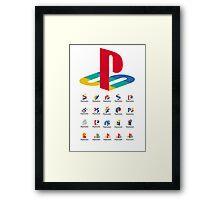Play Station  Framed Print