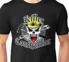 Construction Skull: Killer Construction Yellow 2.1 Unisex T-Shirt