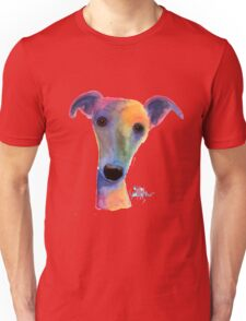 WHIPPET / GREYHOUND 'PANSY' By Shirley MacArthur Unisex T-Shirt
