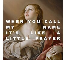 The Penitent Prayer of Mary Magdalene Photographic Print