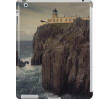 Neist Point lighthouse, Isle of Skye iPad Case/Skin