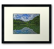 Prior Park, Bath in symmetry by Tim Constable Framed Print
