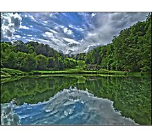 Prior Park, Bath in symmetry by Tim Constable Photographic Print