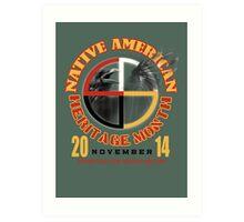 native american heritage month Art Print