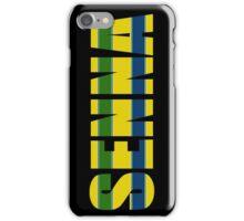 Ayrton Senna Helmet Design iPhone Case/Skin
