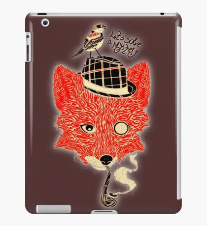 mystery solved t-shirts & cases iPad Case/Skin